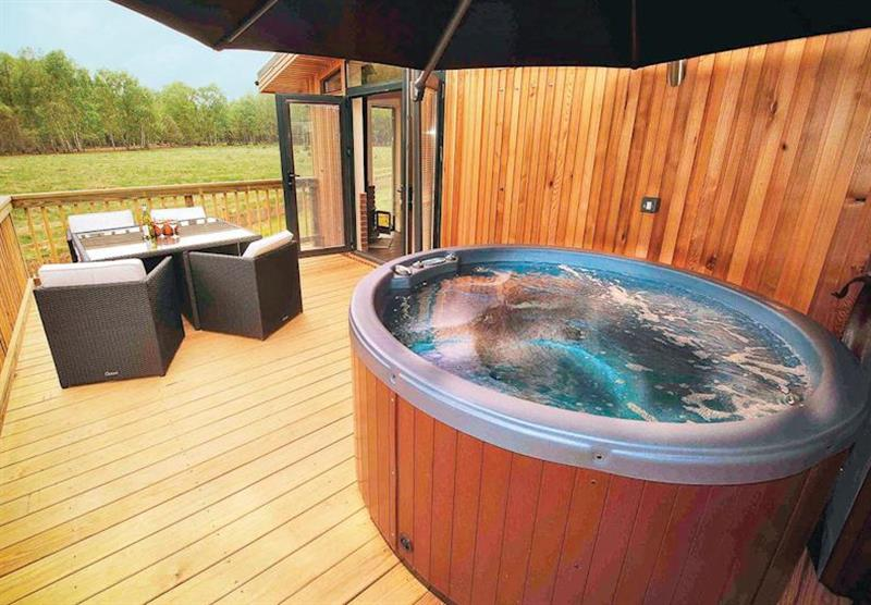 Hideaway Lodge 2 VIP at The Sherwood Hideaway Lodges in Perlethorpe, Newark-on-Trent