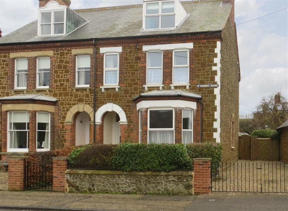 Attractive semi-detached holiday home at The Shields in Hunstanton, Norfolk