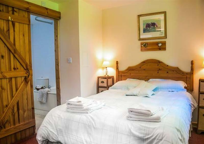 Double bedroom at The Stable, Penparc near Cardigan, Dyfed