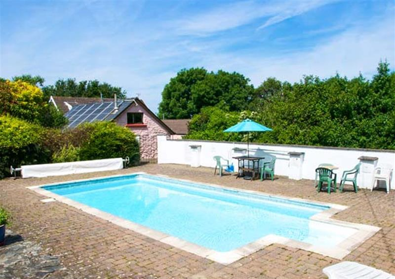Swimming pool at The Stable, Penparc near Cardigan, Dyfed