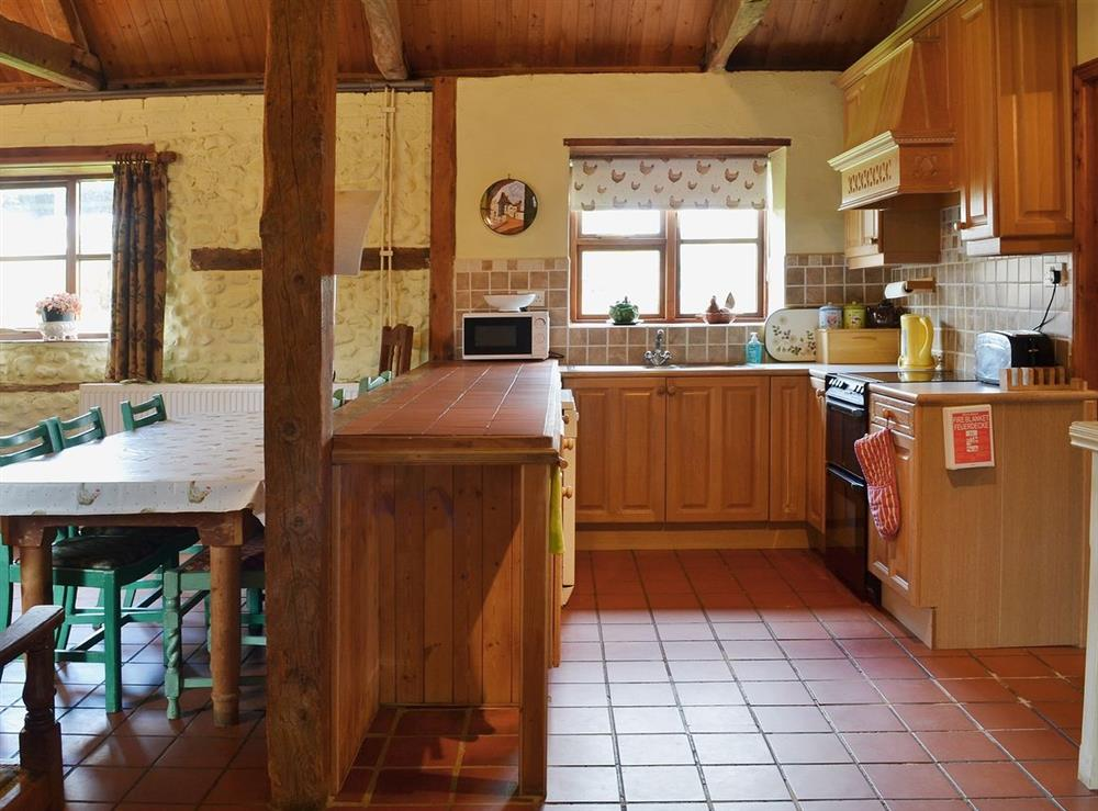 Kitchen at The Stables in Beeston, Norfolk