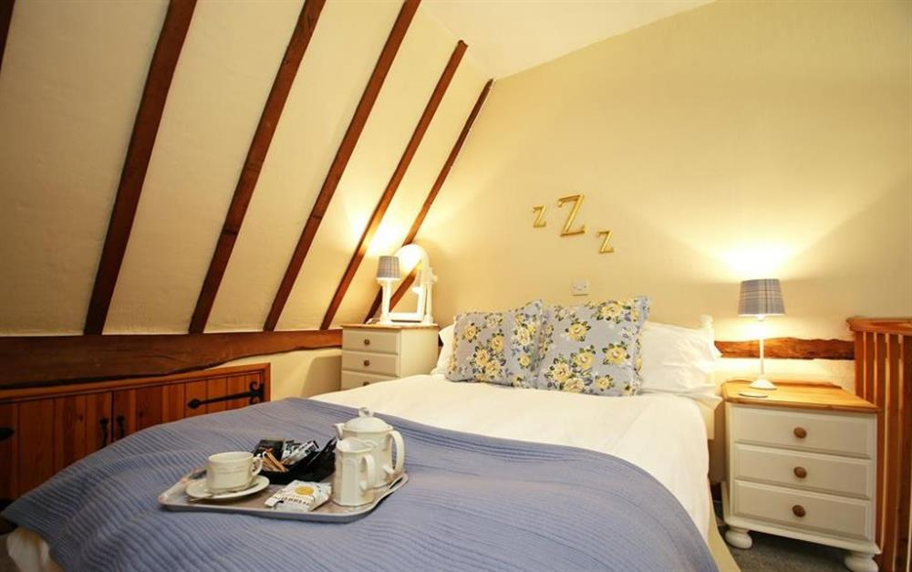 Double bedroom at The Straw Loft, Nr Sudbury, Suffolk
