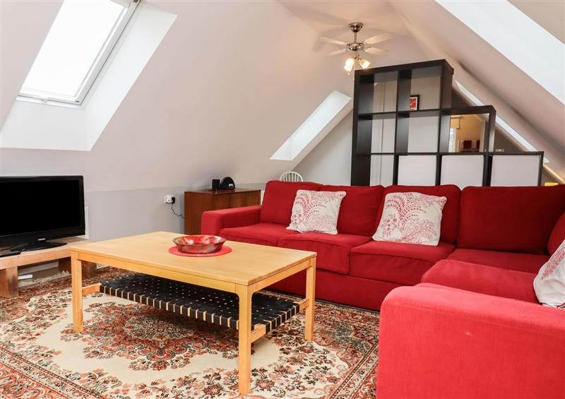 This is the living room at The Studio, Astwick