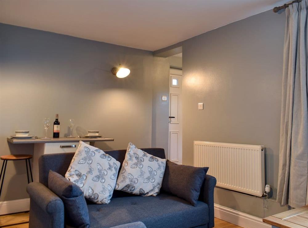 Comfortable living/dining room at The Studio in Beccles, Suffolk