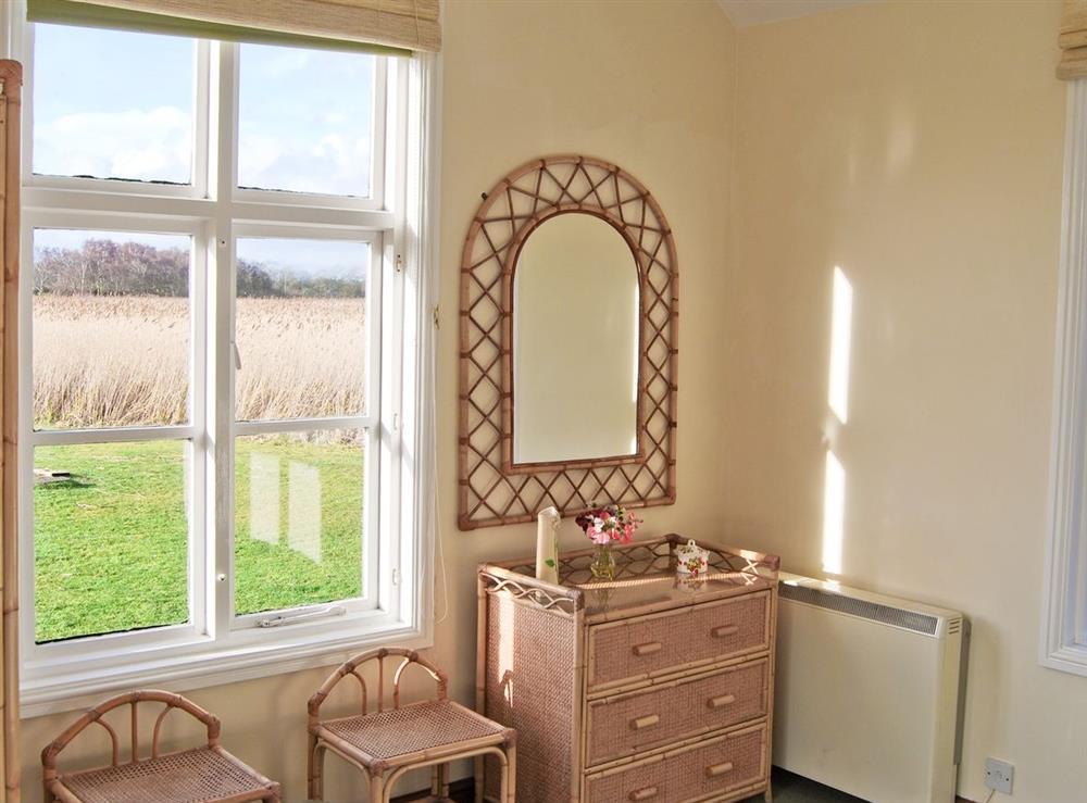 Bedroom at The Studio in Hickling, Norfolk., Great Britain