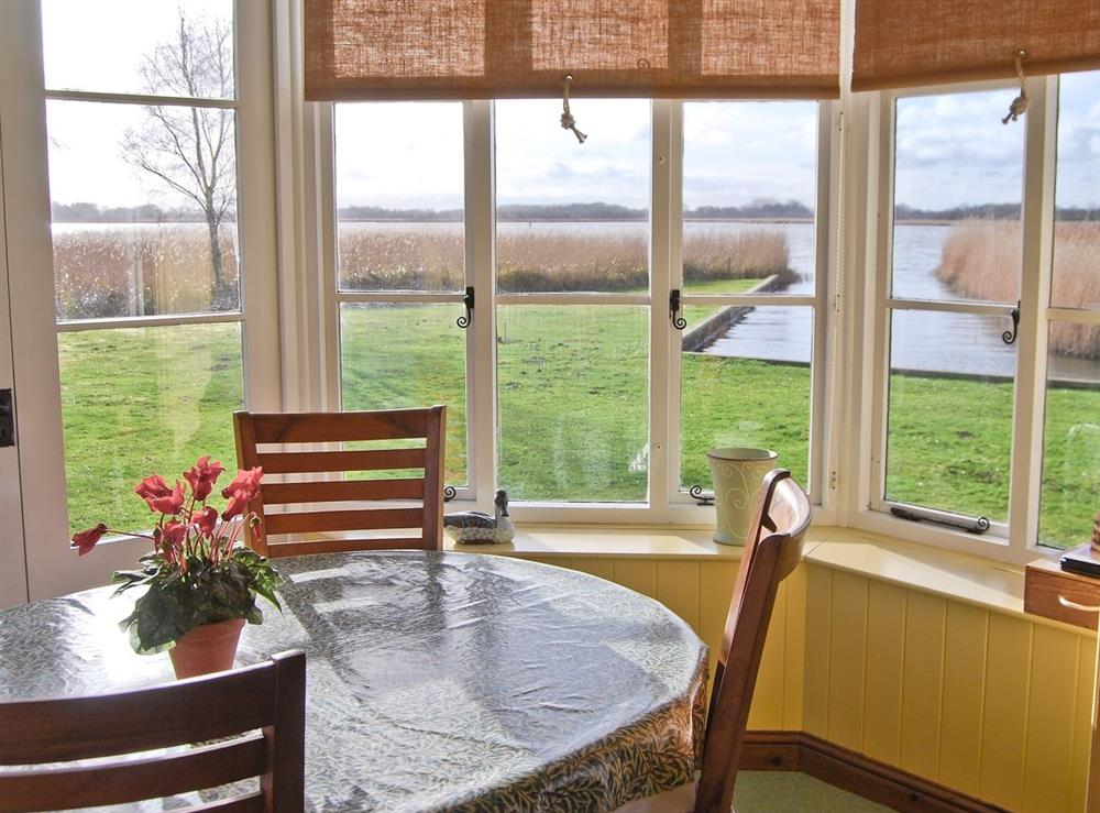 Dining Area at The Studio in Hickling, Norfolk., Great Britain