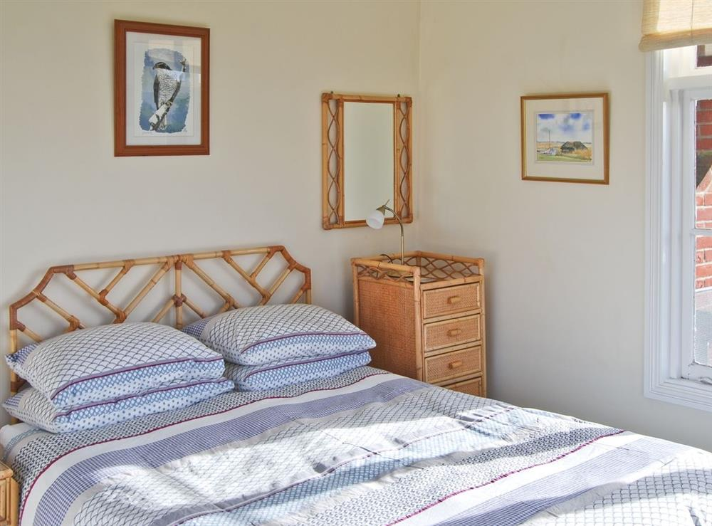 Double bedroom at The Studio in Hickling, Norfolk., Great Britain