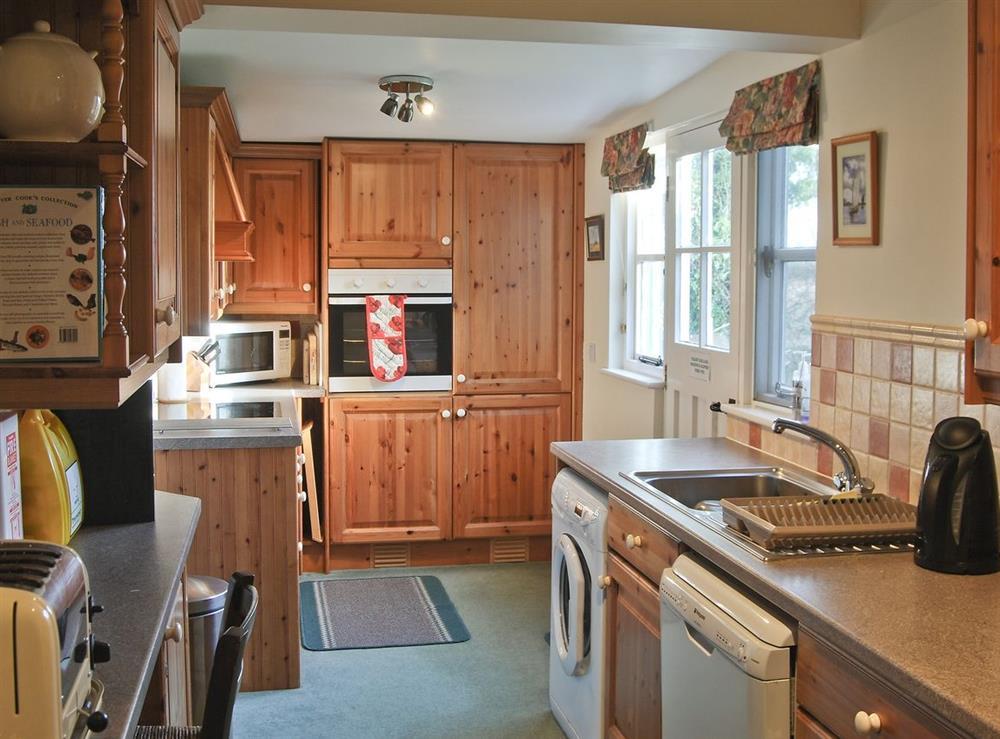 Kitchen at The Studio in Hickling, Norfolk., Great Britain