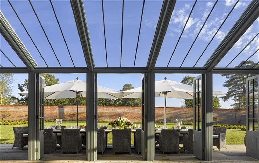 Dine out in stlye at The Walled Garden, Sibton Park