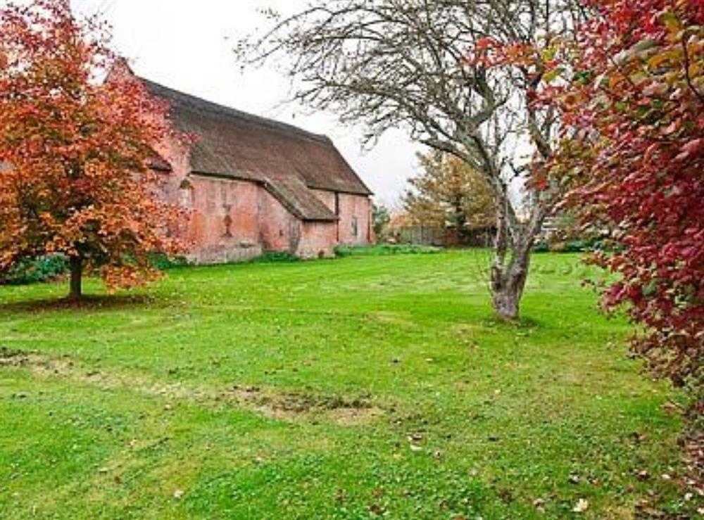 Garden at The Wherry Arch in Irstead, Norwich, Norfolk