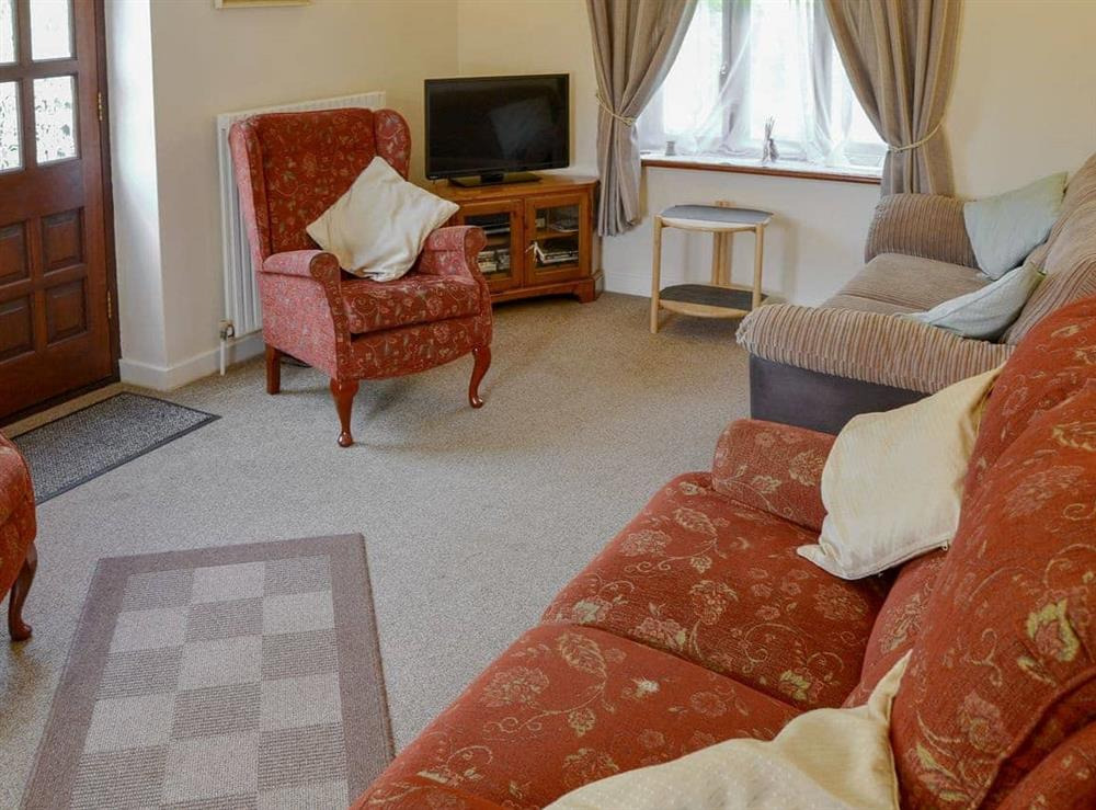 Living room at The Wherry Arch in Irstead, Norwich, Norfolk