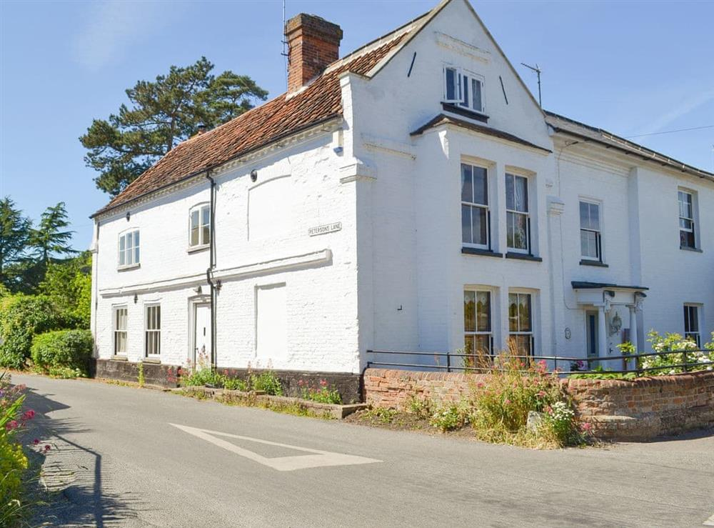 Historic semi-detached holiday home at The White House in Aylsham, Norfolk