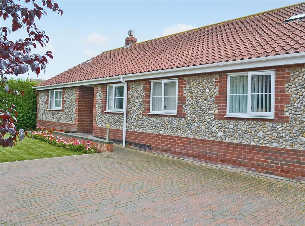 Exterior at The Willows in Sea Palling, Norfolk