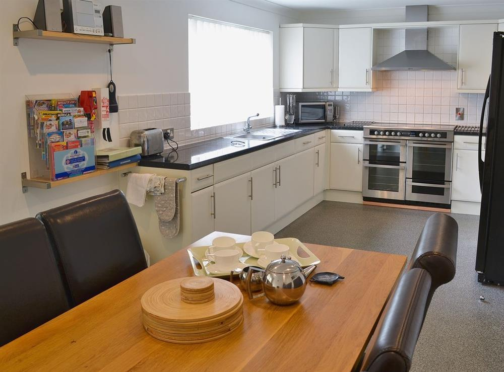 Kitchen/diner at The Willows in Sea Palling, Norfolk