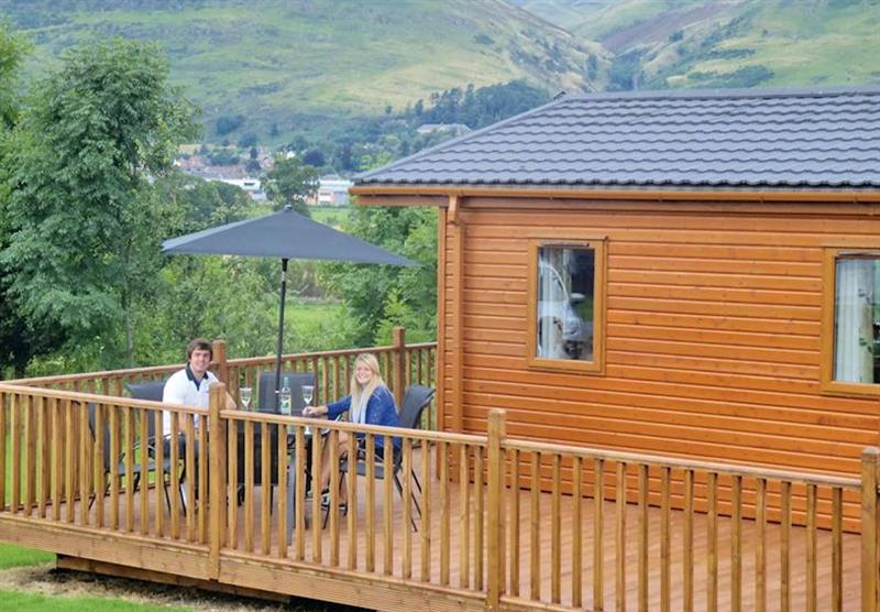 Typical Stirling Lodge at The Woods in Clackmannan-shire, Southern Highlands