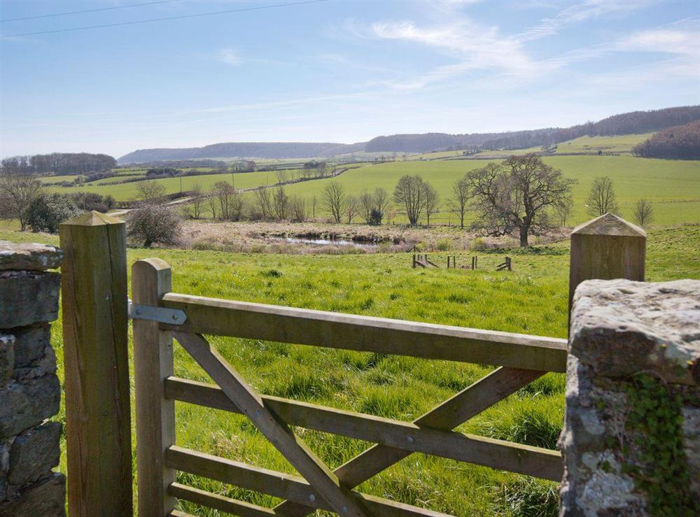 Outstanding countryside views at Sycamore Cottage,