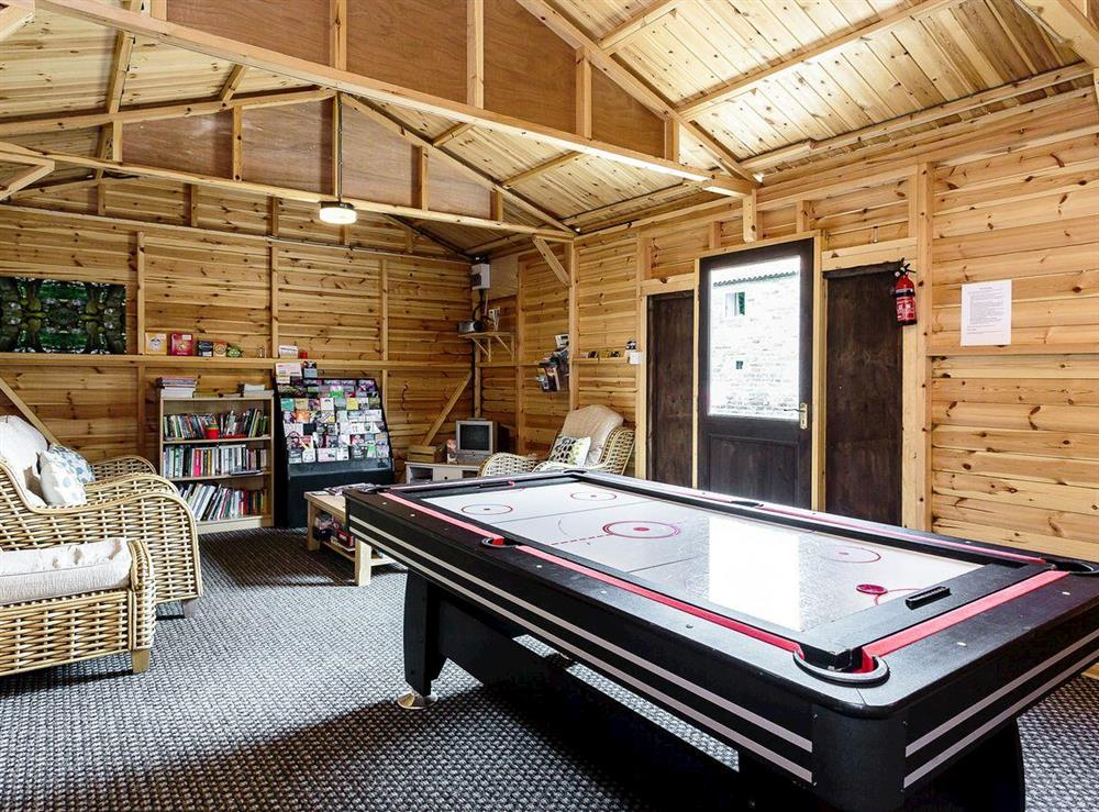 Useful recreation room at Sycamore Cottage,
