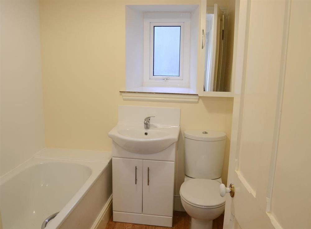 Bathroom at Thistle Cottage in Bonar Bridge, near Lairg, Highlands, Ross-Shire