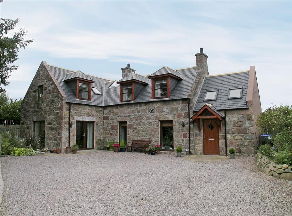 Exterior at Thornton Cottage in Drumoak, Aberdeenshire., Kincardineshire