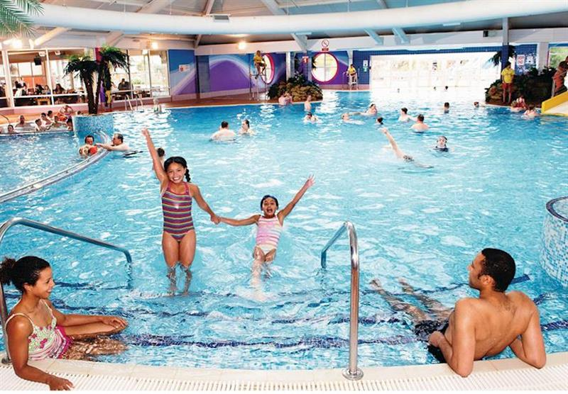 Indoor heated pool (photo number 4) at Thorpe Park Holiday Centre in Cleethorpes, Lincolnshire