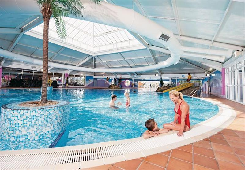 Indoor heated pool at Thorpe Park Holiday Centre in Cleethorpes, Lincolnshire
