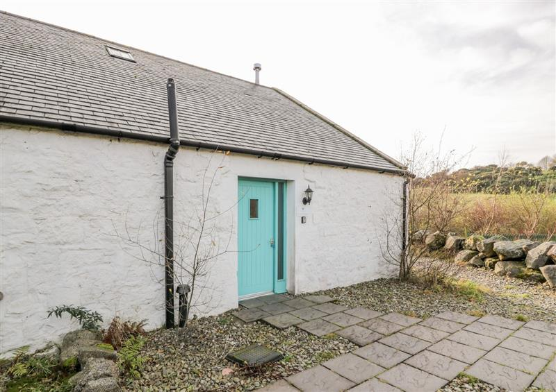 Outside Threave Cottage