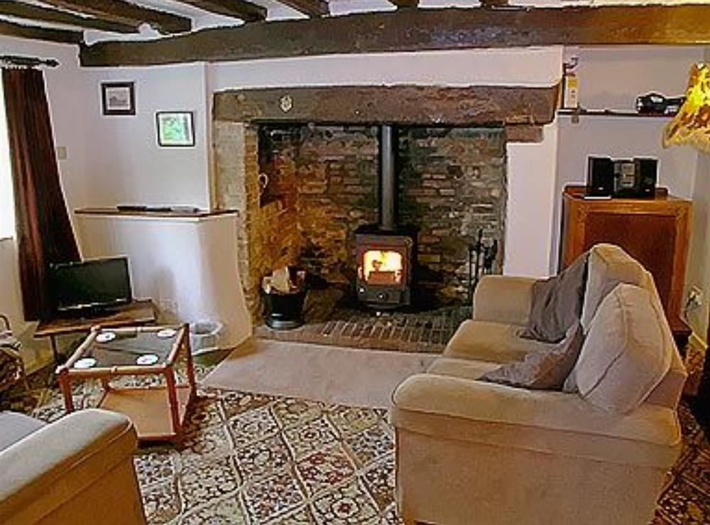 Living room at Three Ash Cottage in Bungay, Suffolk