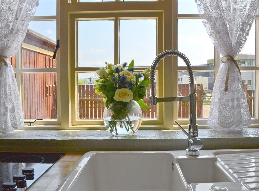Charming kitchen at Tickton Hall Cottage in Tickton, near Beverley, North Humberside