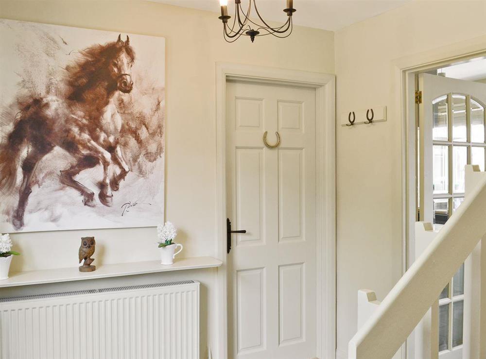 Hallway at Tickton Hall Cottage in Tickton, near Beverley, North Humberside