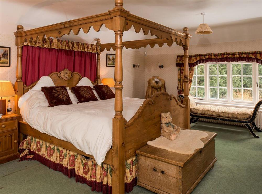 Four Poster bedroom at Tickton Hall Cottages- Tickton Hall in Beverley, North Humberside