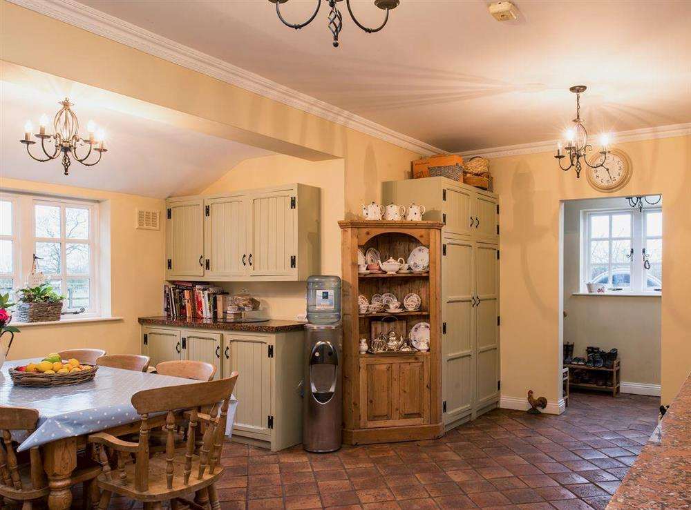 Kitchen/diner (photo 2) at Tickton Hall Cottages- Tickton Hall in Beverley, North Humberside