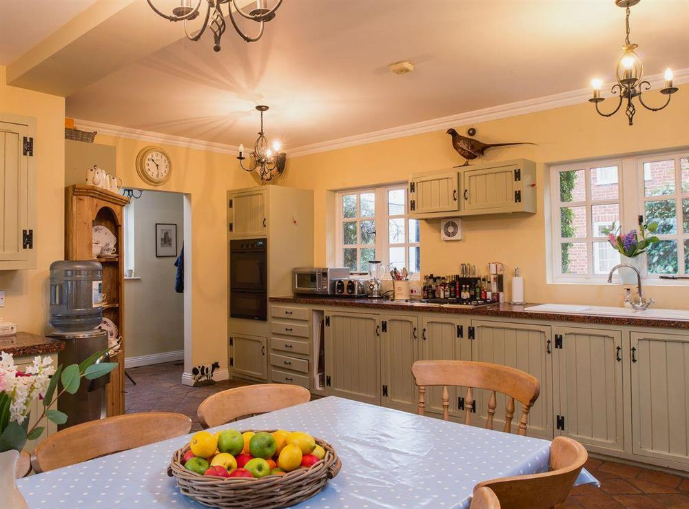 Kitchen/diner at Tickton Hall Cottages- Tickton Hall in Beverley, North Humberside
