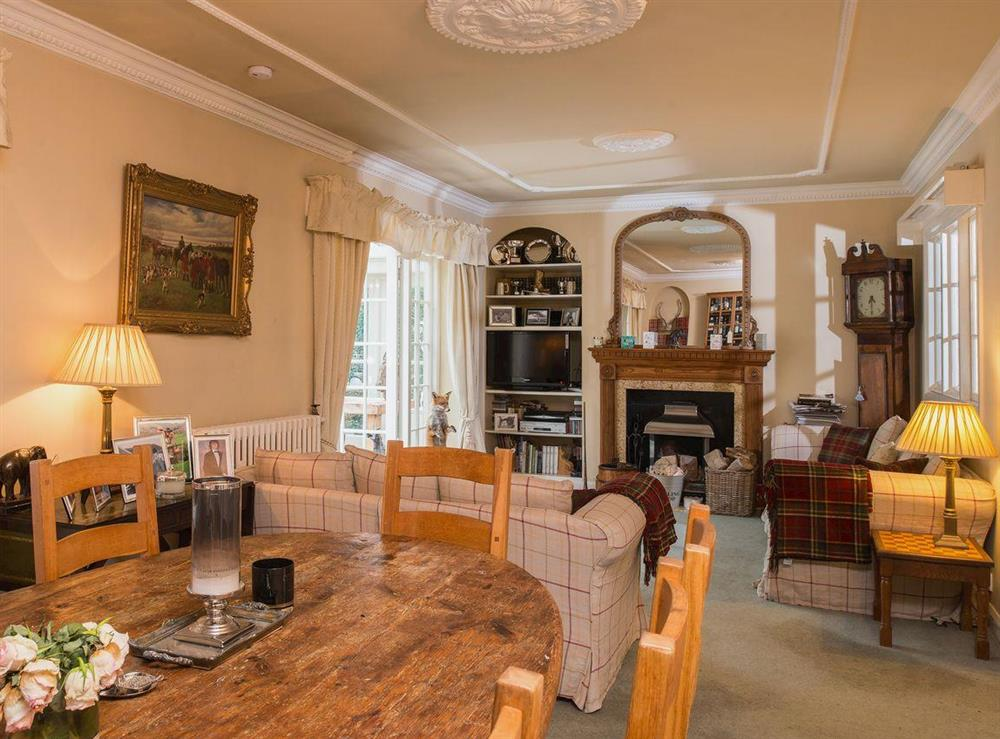 Living room/dining room at Tickton Hall Cottages- Tickton Hall in Beverley, North Humberside