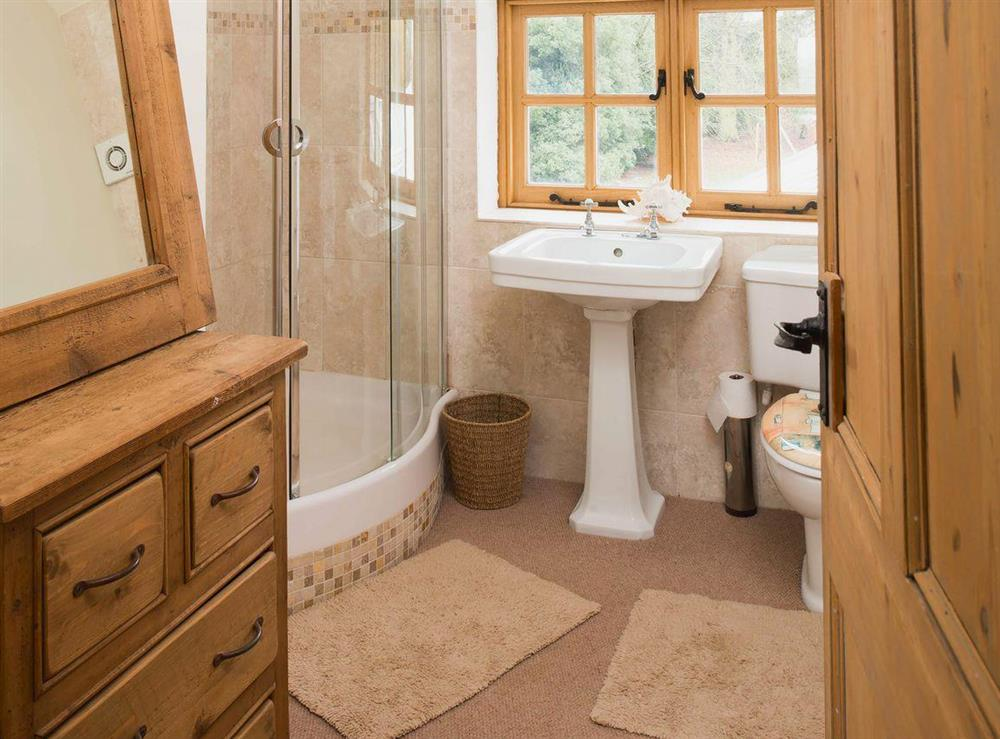 Shower room at Tickton Hall Cottages- Tickton Hall in Beverley, North Humberside