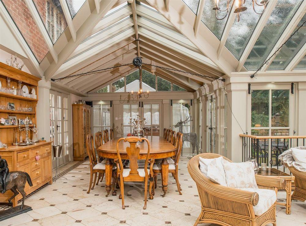 Sun room (photo 3) at Tickton Hall Cottages- Tickton Hall in Beverley, North Humberside