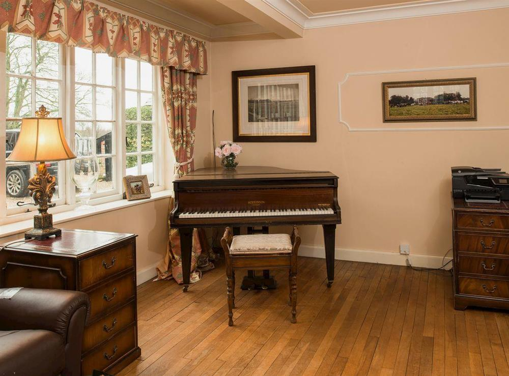 The piano at Tickton Hall Cottages- Tickton Hall in Beverley, North Humberside