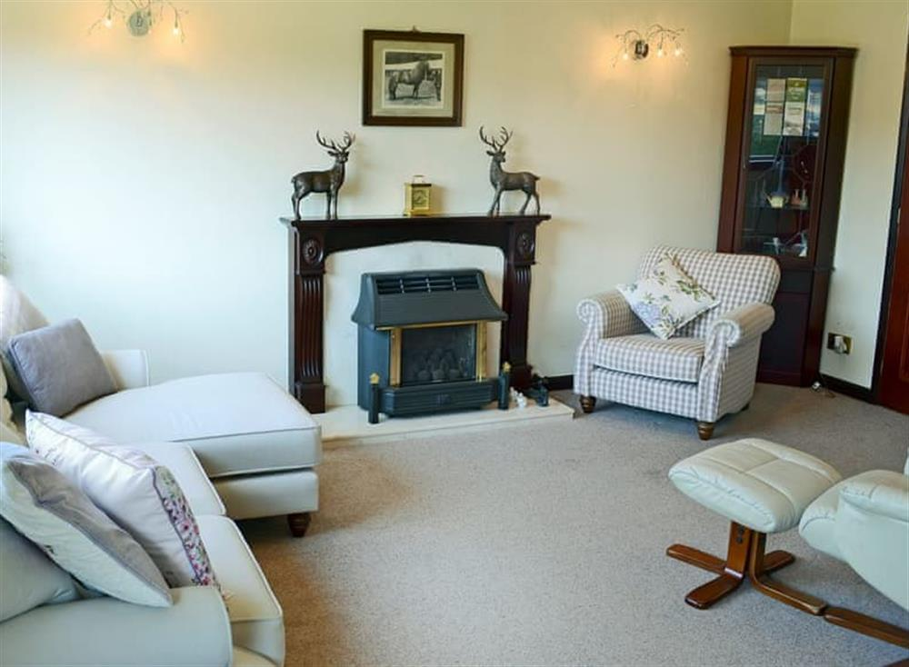 Homely living room at Tigh Marion in near Nairn, Loch Ness and Nairn, Morayshire