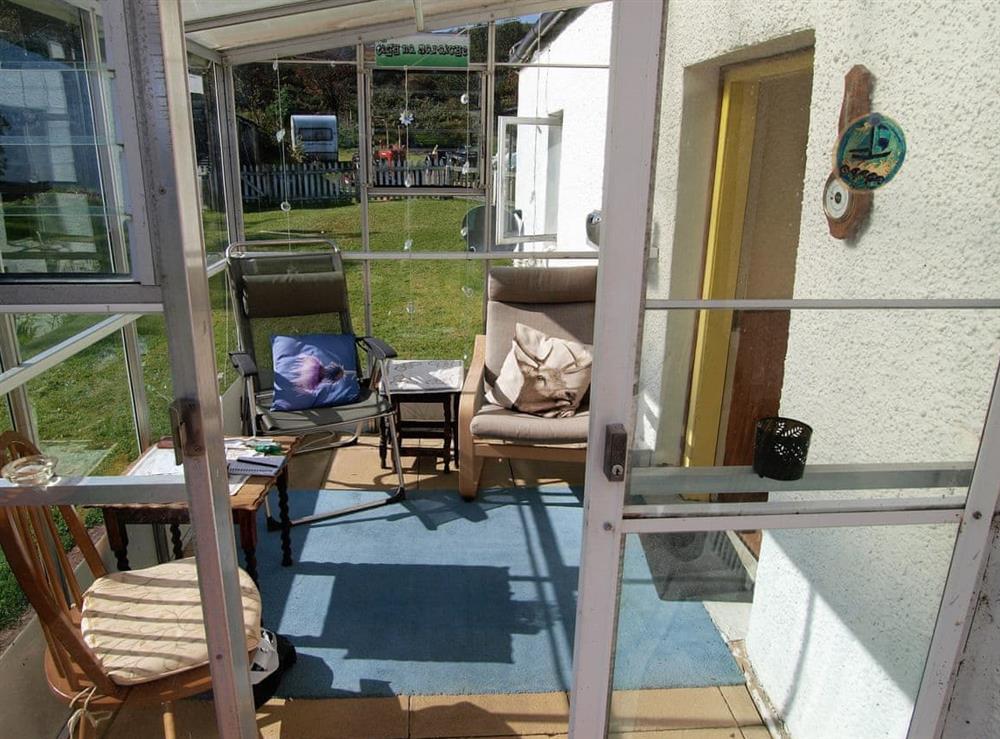 Conservatory at Tigh na Maraiche in Isle of Jura, Scotland