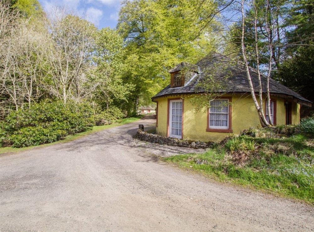 Exterior at Tinkerbell in Glenprosen, by Kirriemuir, Angus., Great Britain