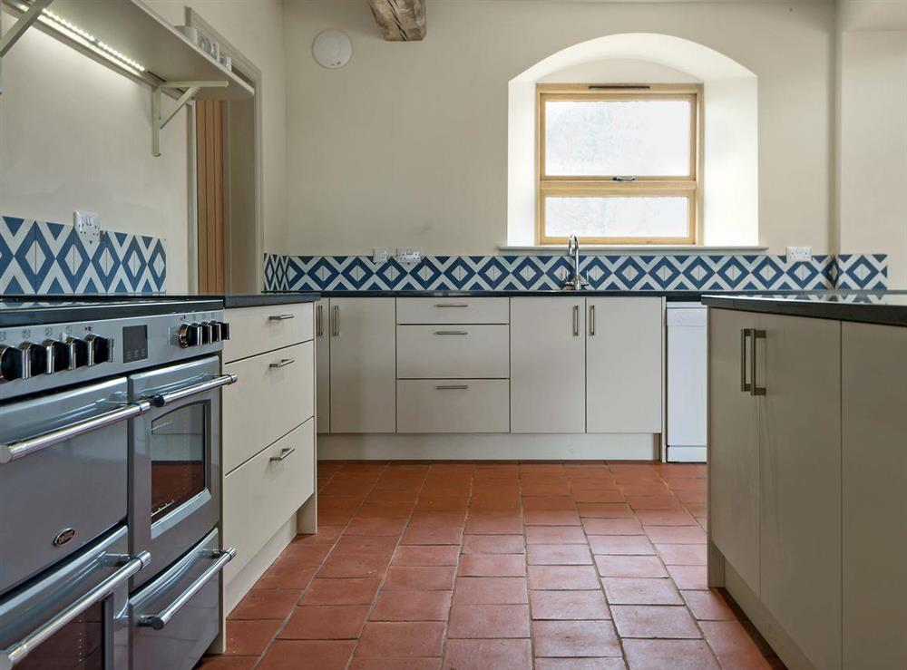 Exquisitely presented kitchen area (photo 2) at Peak Hall,