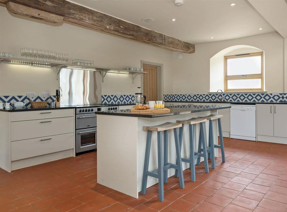 Exquisitely presented kitchen area at Peak Hall,