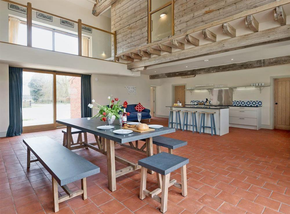 Luxurious kitchen/dining room at Peak Hall,