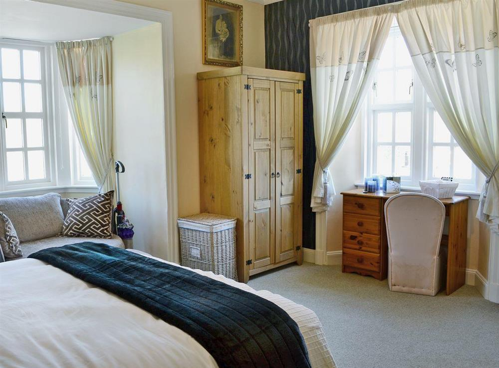 Comfortable double bedroom at Toll House in Berwick-upon-Tweed, Northumberland
