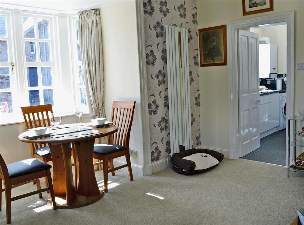 Homely living room/dining room at Toll House in Berwick-upon-Tweed, Northumberland