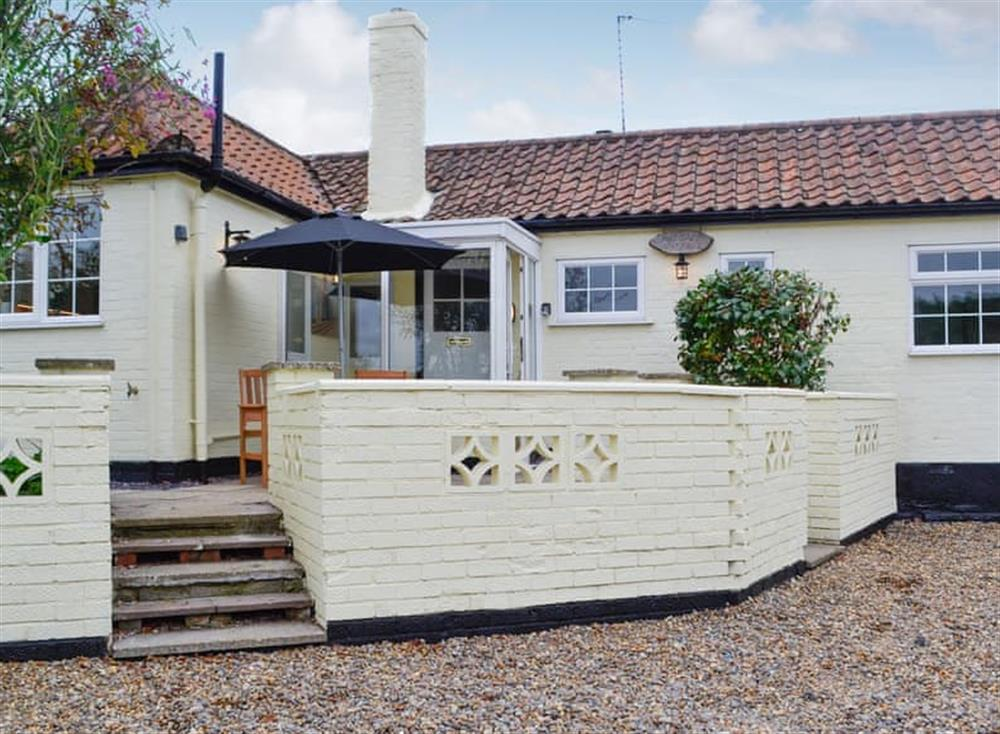 Exterior at Tollgate Cottage in Blythburgh, near Southwold, Warwickshire