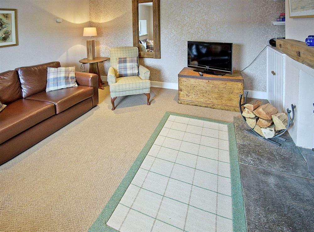 Welcoming living room at Tomnahurich Bridge House in Inverness, Inverness-Shire