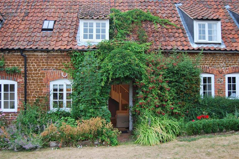 Outside Toms Cottage at Toms Cottage, Heacham near Kings Lynn, Norfolk