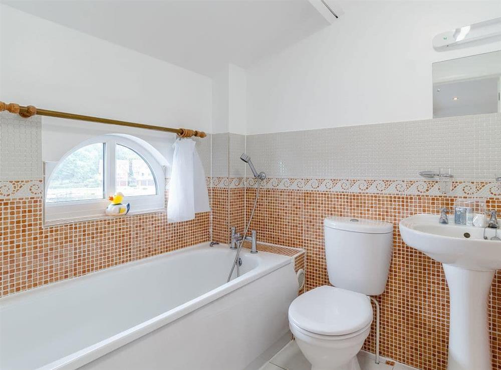 Bathroom at Top Sail in Wroxham, Norfolk
