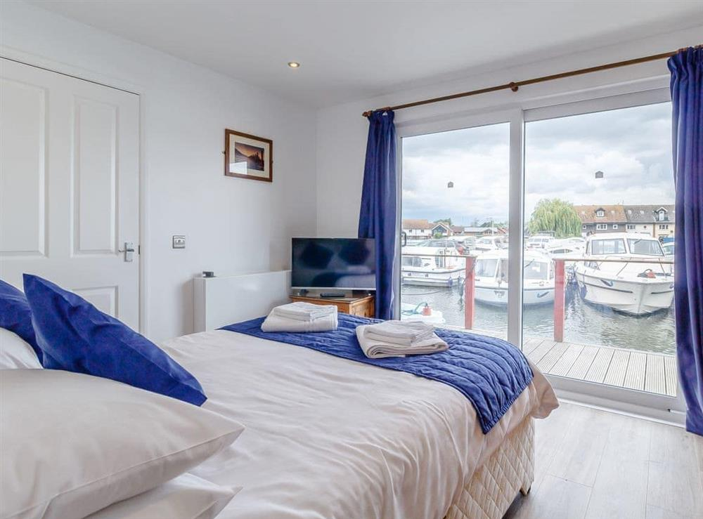 Double bedroom at Top Sail in Wroxham, Norfolk