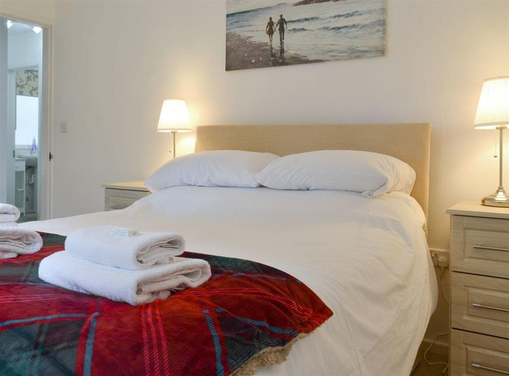 Peaceful double bedroom at Torbay View in Brixham, Devon